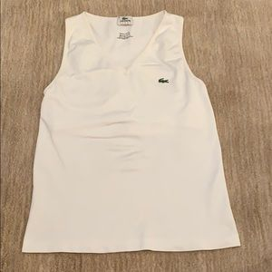 Lacoste Tank Top With Built In Support
